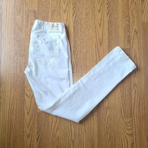 White Skinny Jeans - Size 3/4
